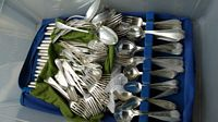95 and 162 pc sterling flatware sets