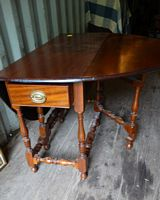 18th cent. gate leg table