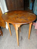 period Queen Anne tea table