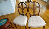 set of 6 Prince of Wales chairs